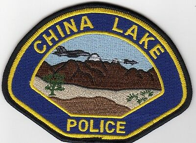 Current CHINA LAKE POLICE patch CALIFORNIA