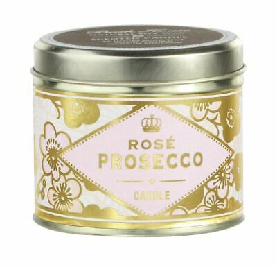 Cocktail Collection Rose Prosecco Scented Pure Soy Candle by Bath House