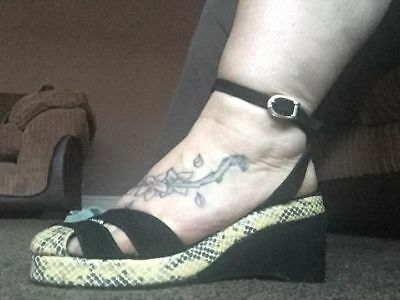 1940s/50s Style Wedge