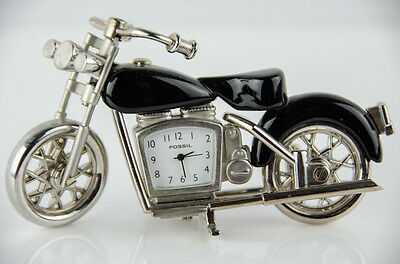 Fossil Motorycle Desk Clock - Collectors Limited Edition