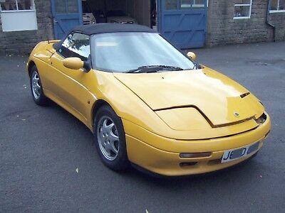J Reg Lotus Elan Se Turbo Damaged Repairable Salvage