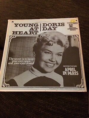 Doris Day Young at Heart/April in Paris LP