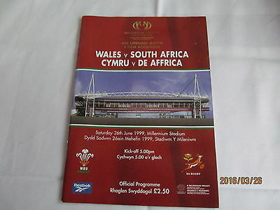 Wales v South-Africa. Rugby Union 1999.