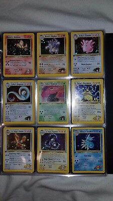 Near Complete 1st ed. Gym Heroes (NM/M) - Pokemon Cards, Missing Trainers/Energy