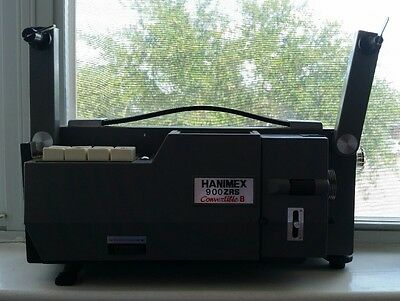 Hanimex 900ZRS Convertible 8 8mm MOVIE PROJECTOR  SUPER 8MM UNTESTED