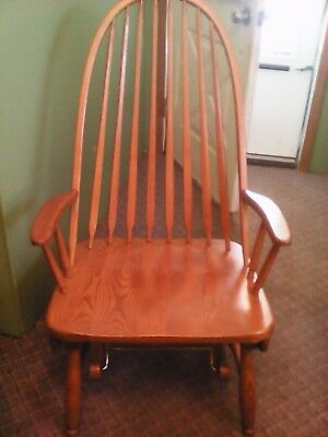 Vintage S Bent Amp Bros Colonial Adult Rocking Chair