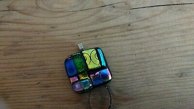 glass arts and craft pendant