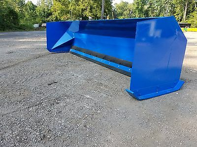 12' Snow pusher boxes FREE SHIPPING backhoe loader snow plow