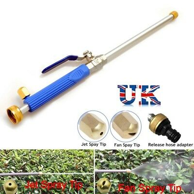 High Pressure Washer Spray Nozzle Water Hose Wand Attachment Patio Car Cleaner