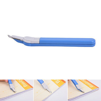 Staple Remover Push Style Remover Professional Staple School Office Tool Blue FG
