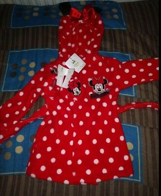 Minnie Mouse Baby Gown & Booties