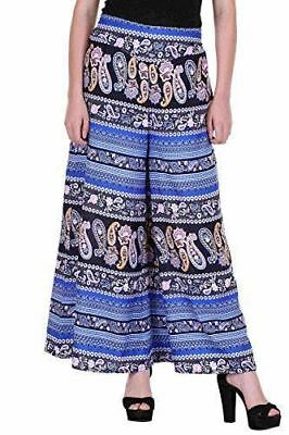 Blue Jaipuri Palazzo Indian Fashion Indo Western Fashion