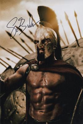 Gerard Butler Genuine Autographed 12x8inch photograph