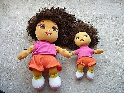 Ty Dora The Explorer Soft Toys Large And Small
