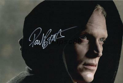 """Paul Bettany Genuine signed 12x8"""" photograph"""