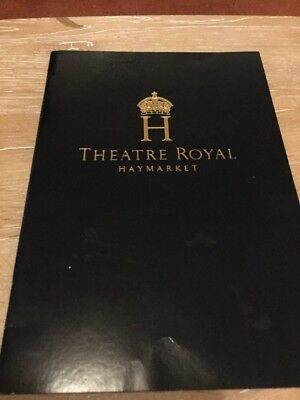 signed theatre programme