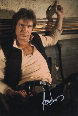 Harrison Ford Genuine Autographed 12x8inch photograph