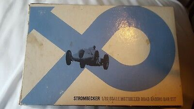 STROMBECKER 1/32 Scale Slot Car 9325-395 With box Ford Stock Car vintage kit