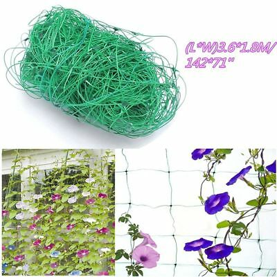Use Bean Trellis Netting 1.8X3.6m Green Nylon Fence Plant Support Climbing