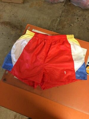 Vintage 70s Bike Running Shorts With Built In Jock Strap Size Xl Usa Made