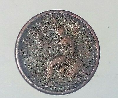 British King George lll 1807 Penny nice detail