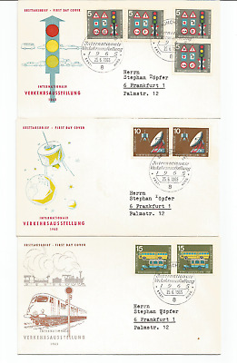 Germany 1965 First day covers