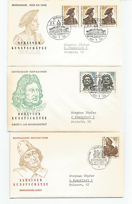 Berlin Germany, First day covers