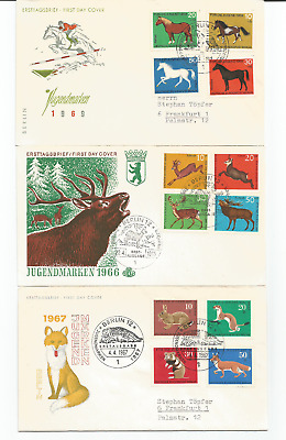 Germany First day covers
