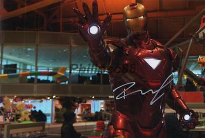 "Robert Downey Jr ""Iron Man"" Genuine signed 12x8"" photograph"