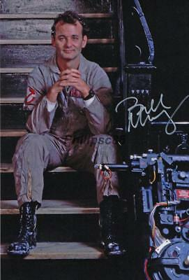 """Bill Murray """"Ghostbusters"""" Genuine Autographed 12x8inch photograph"""