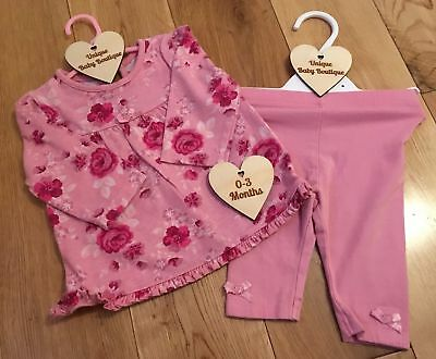 CLEARANCE 0-3 Months Baby Girls Clothing Multi Listing Outfits Sets Bundle Dress