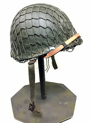WW2 Style Army Helmet M1 with Net-Belgium