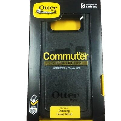 OtterBox Commuter Series Case Cover For Samsung Galaxy Note 8 Black NEW