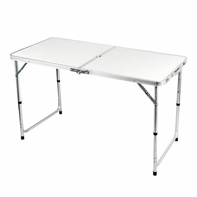 4ft Folding Table Outdoor Camping Hobby Kitchen Work Top Table