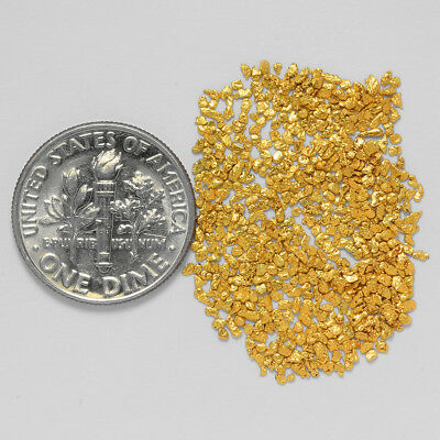 0.7415 Gram Alaskan Natural Gold Nuggets - (#21012) - Hand-Picked Quality