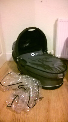 Quinny Black Carrycot With Raincover