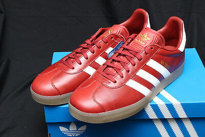 ADIDAS GAZELLE MYSTERY Red/White/Gold