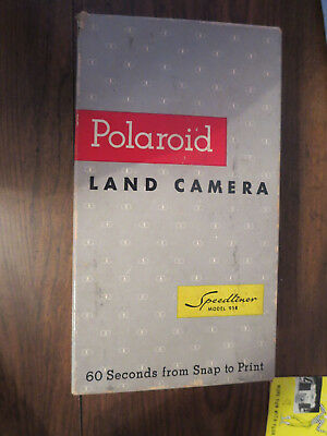 Vintage Polaroid Land Camera Model 95 B Great Condition