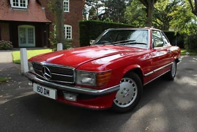 1986 Mercedes 420SL R107 Auto Convertible, Full Service History, Lovely Car