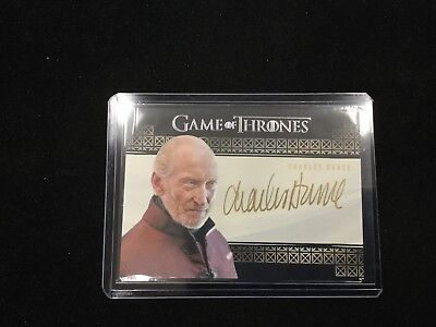 Charles Dance As Tywin Lannister 2017 Game Of Thrones Valyrian Steel Auto