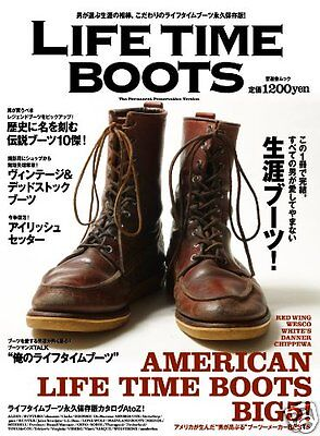 Life Time Boots BIBLE Book Magazine Catalogue Wesco Red Wing White's Vintage