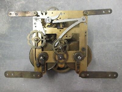 German Mantel or Wall Clock Movement 18cm, Has power to both trains