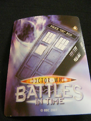 RARE doctor who trading cards, Battles in Time - INVADER