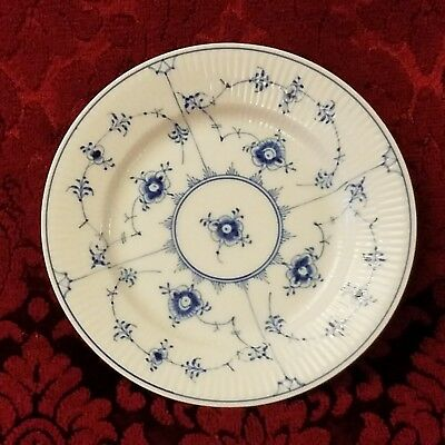 "Royal Copenhagen Blue Fluted Plain 6 1/8"" Dessert or Pie Plate #181"