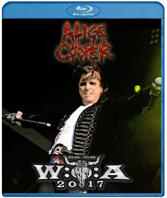 Alice Cooper live at Wacken Open Air 2017 (Blu Ray) Hollywood Vampires