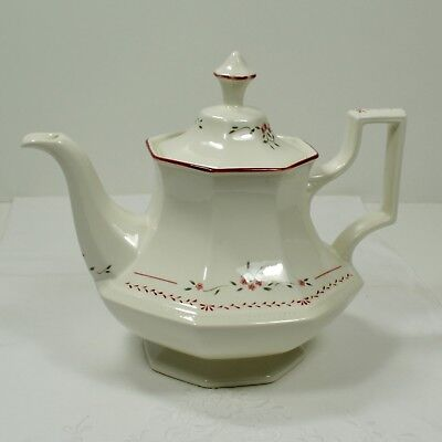 "Johnson Bros ""MADISON - Heritage Octagonal"" Tea Pot - Large"