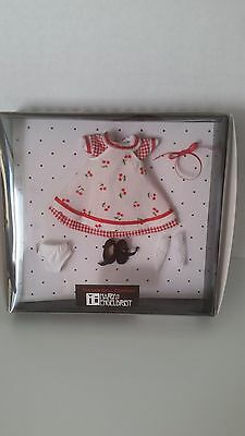 """Tonner 8"""" Mary Engelbreit Cherries And Gingham Outfit #mc8401"""