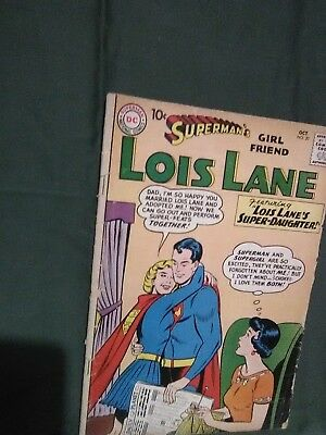 Superman's Girlfriend Lois Lane #20 Oct 1960 DC comics