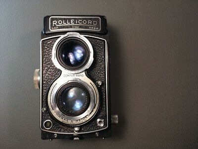 Rolleicord tlr camera for parts