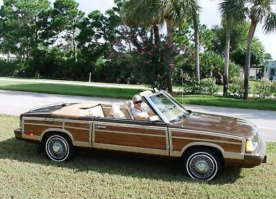 1986 Chrysler LeBaron MARK CROSS INTERIOR 1986 Chrysler LeBaron Town & Country Convertible Mark Cross Interior